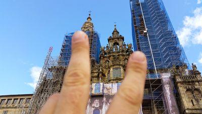 Katedrale in Satiago de Compostela
